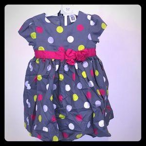 Carter 18M formal spotted dress